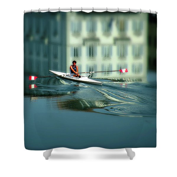 Volo A Vela  Shower Curtain