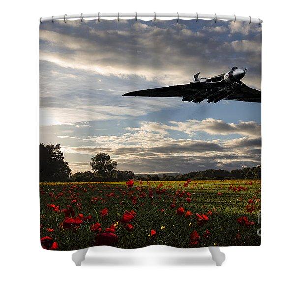 Vulcan History Shower Curtain