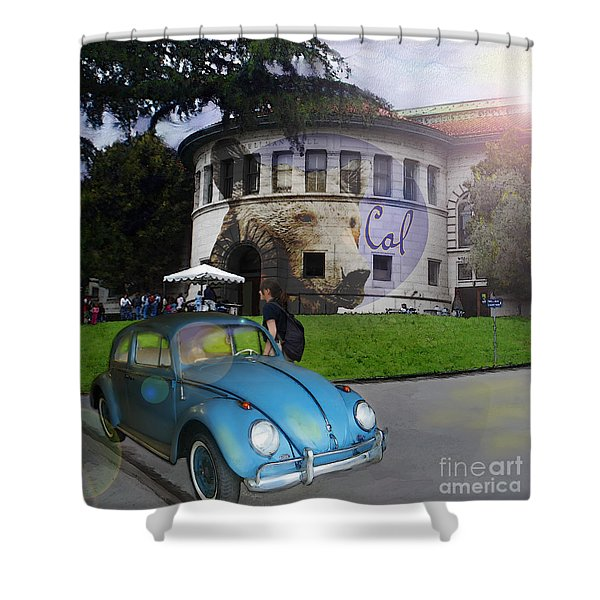 Vw - Uc Berkeley Shower Curtain