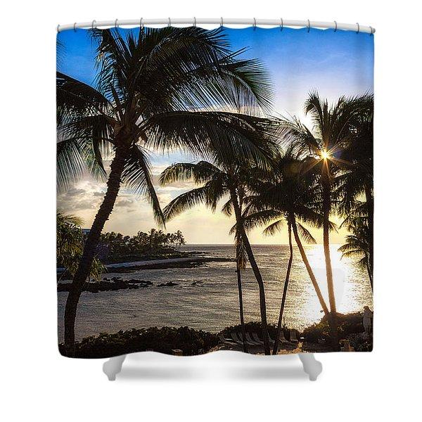 Waikoloa Sunset Shower Curtain