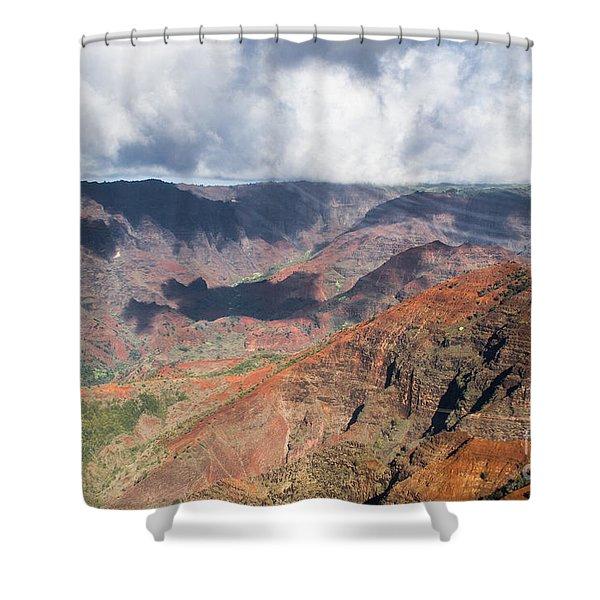 Waimea Canyon Shower Curtain