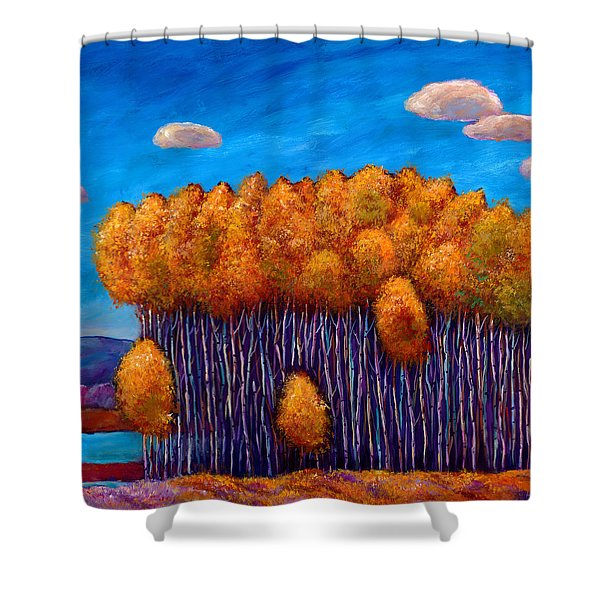 Wait And See Shower Curtain