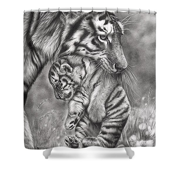 Wait 'til Your Father Gets Home Shower Curtain