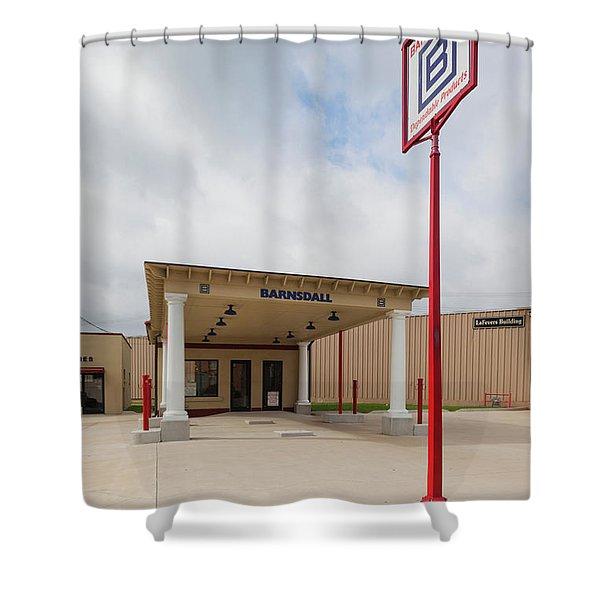 Waite Phillips Gas Station, Sapulpa Shower Curtain