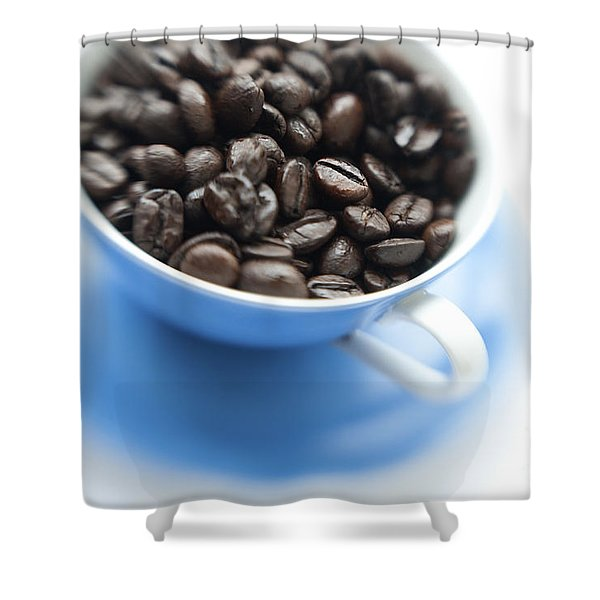 Wake-up Cup Shower Curtain