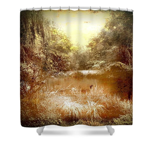 Walden Pond In Pennsylvania Shower Curtain