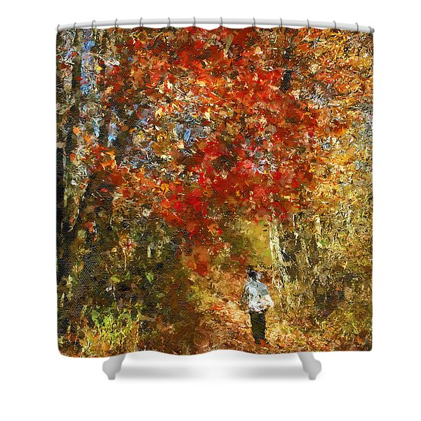 Walk On The Wild Side Shower Curtain