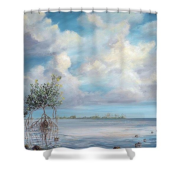 Walking Tree Shower Curtain