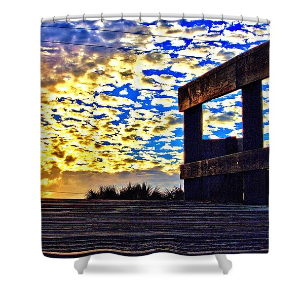 Walkway To Heaven Shower Curtain