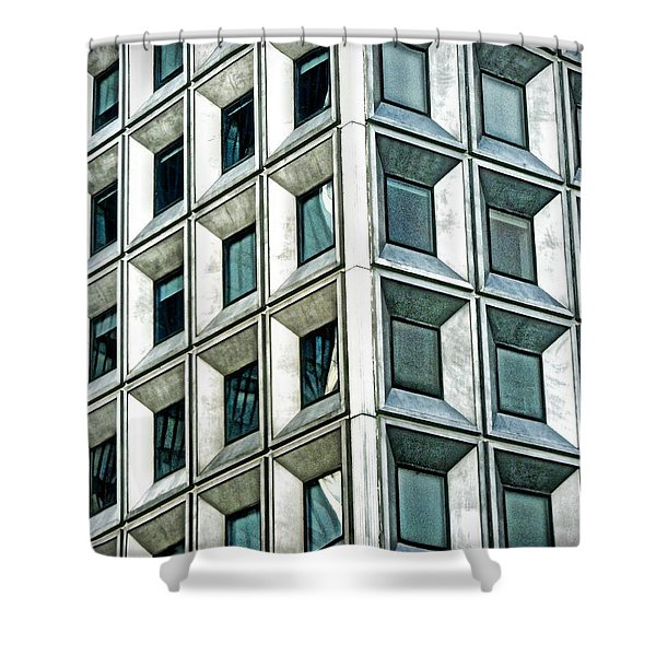 Wall Street Building Shower Curtain
