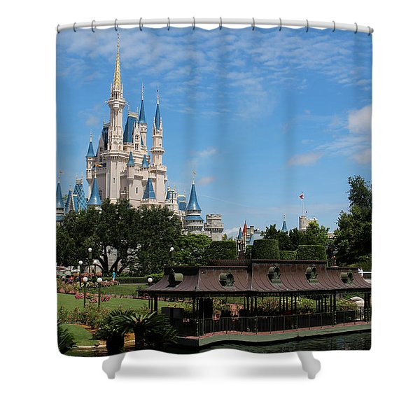 Walt Disney World Orlando Shower Curtain