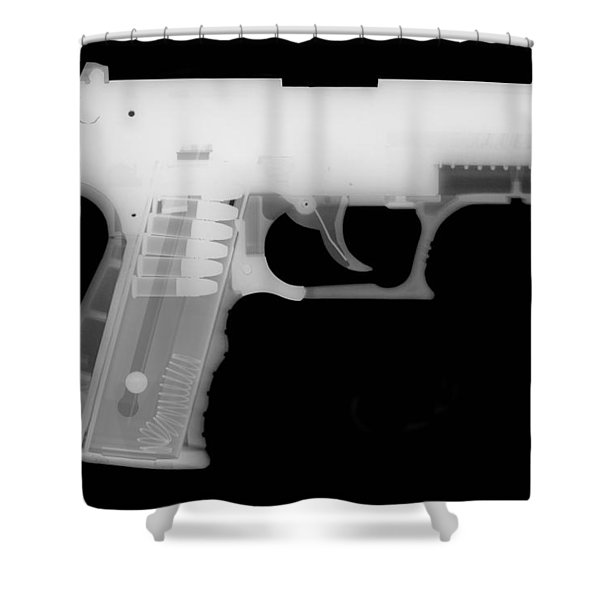 Walther P22 Reverse Shower Curtain