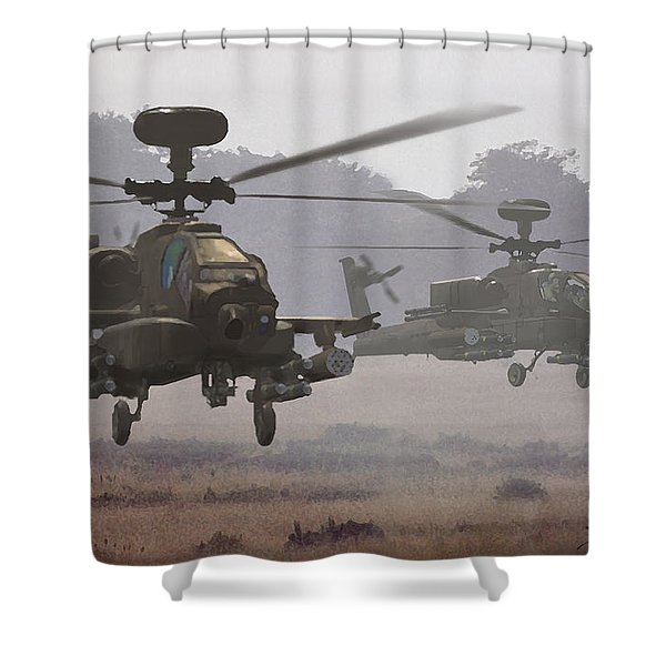 Waltz Of The Hunters Shower Curtain