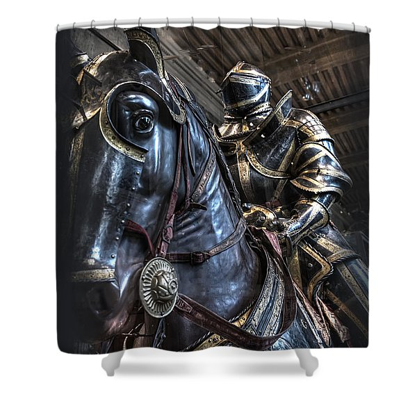 War Horse Shower Curtain