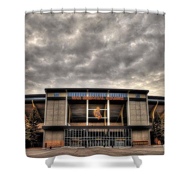 War Memorial Stadium Shower Curtain