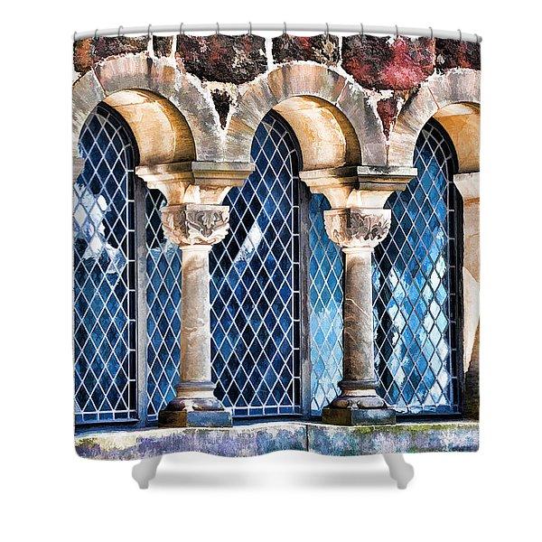 Wartburg Castle - Eisenach Germany - 2 Shower Curtain