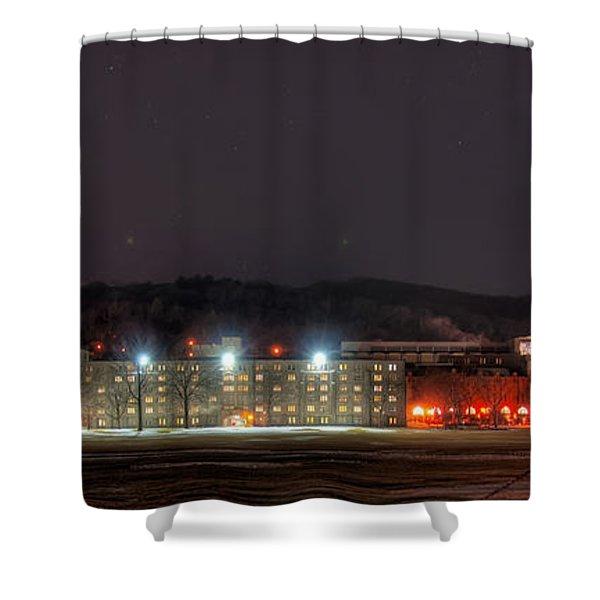 Washington Hall At Night Shower Curtain