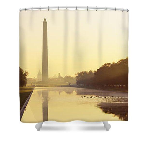 Washington Monument Washington Dc Shower Curtain