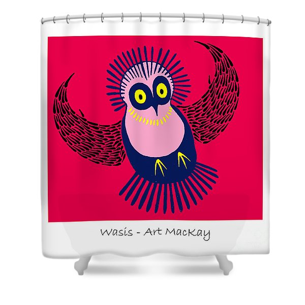 Wasis Shower Curtain