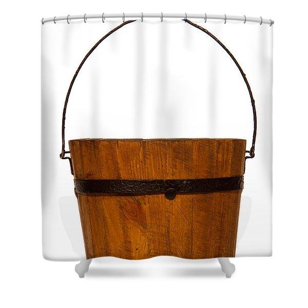 Water Bucket Shower Curtain