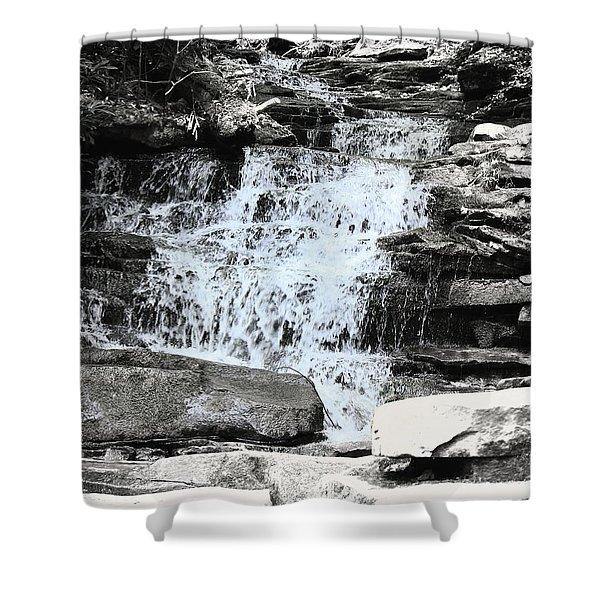 Waterfall 3 Shower Curtain