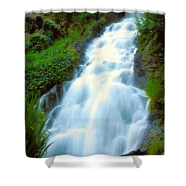Waterfalls In Golden Gate Park Shower Curtain