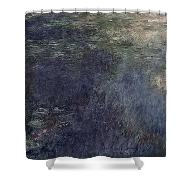 Waterlilies, The Clouds Shower Curtain