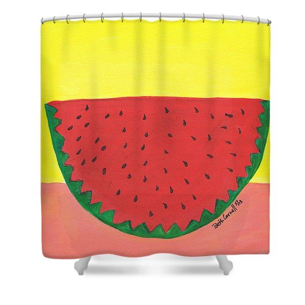 Watermelon 1 Shower Curtain