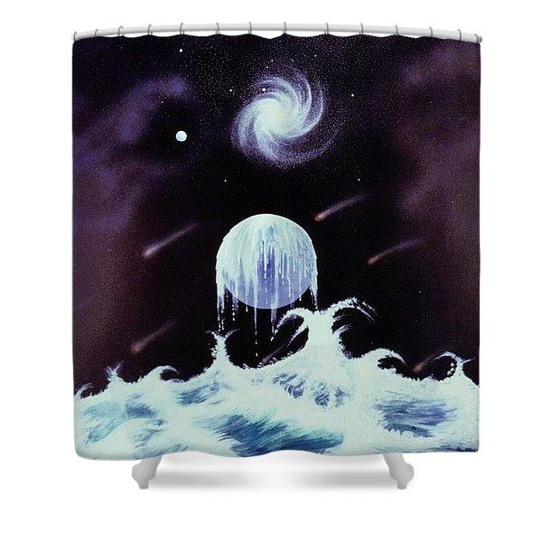 Waterworld II Shower Curtain