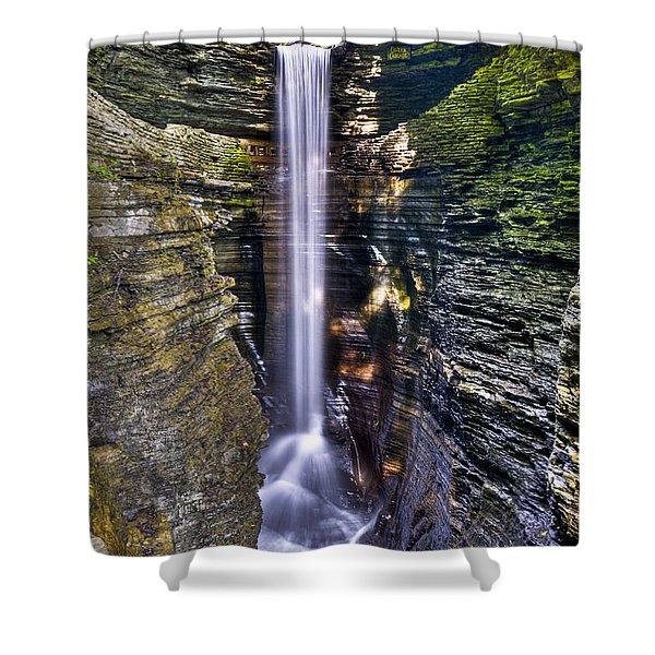 Watkins Glen Cascade Shower Curtain