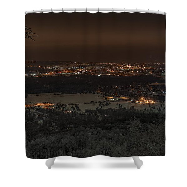 Wausau From On High Shower Curtain