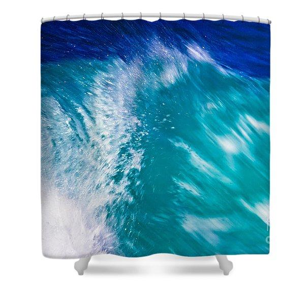 Wave 01 Shower Curtain