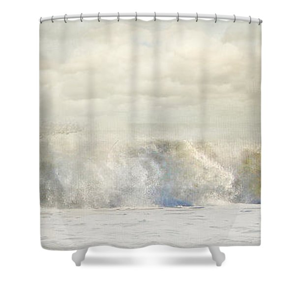 Wave 10 Shower Curtain