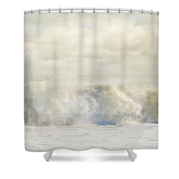 Wave 10 Shower Curtain