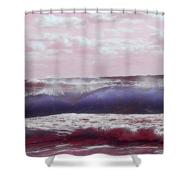 Wave Formation 2 Shower Curtain