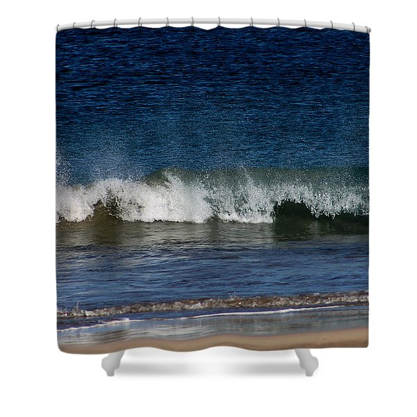 Waves And Surf Shower Curtain