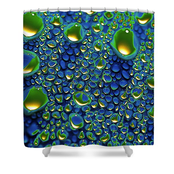 Wax Holds Up Shower Curtain