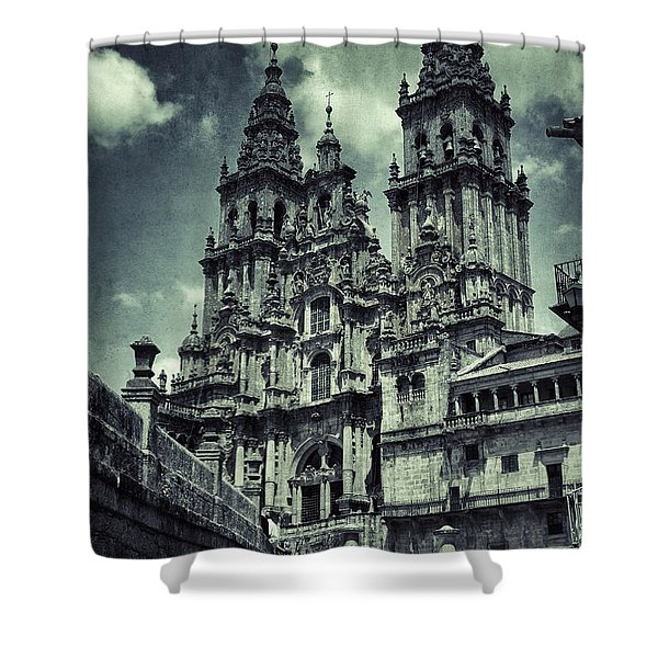 Way Of St. James End Shower Curtain
