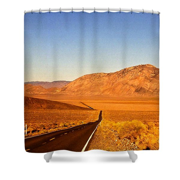 Way Open Road Shower Curtain