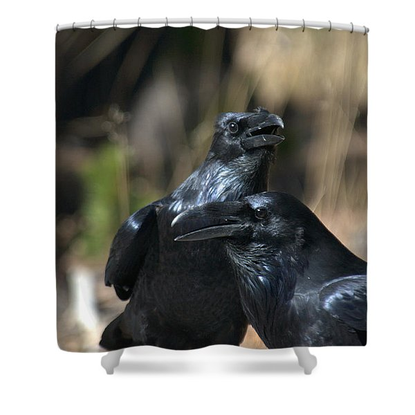We Are The Best Of Friends Shower Curtain