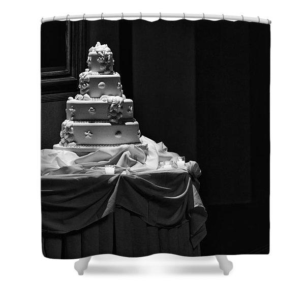 Wedding Cake Shower Curtain