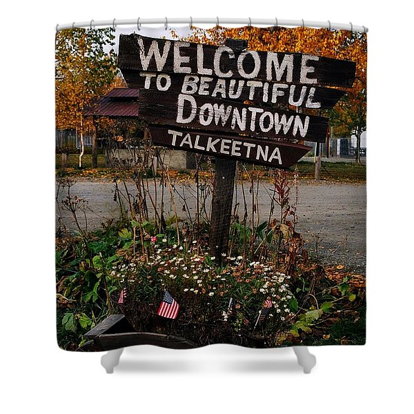 Welcome ... Shower Curtain
