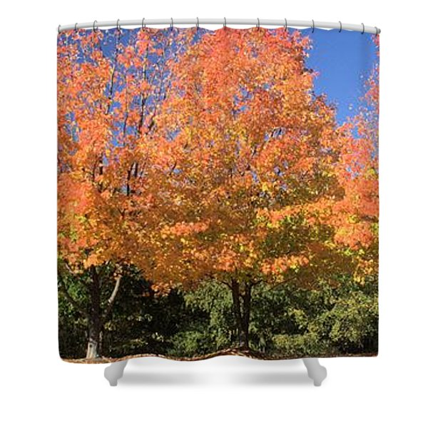 Welcome Autumn Shower Curtain