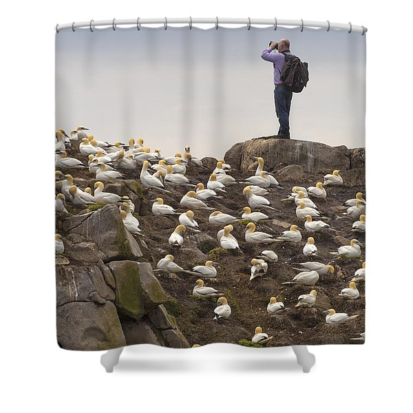 Welcome Explorers Shower Curtain