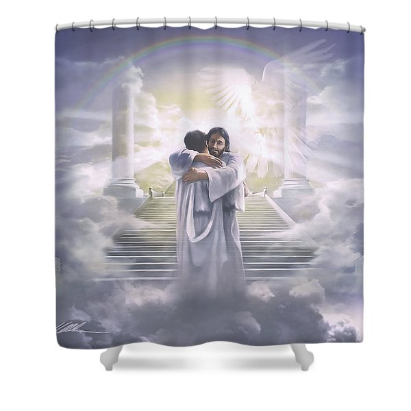 Welcome Home Shower Curtain