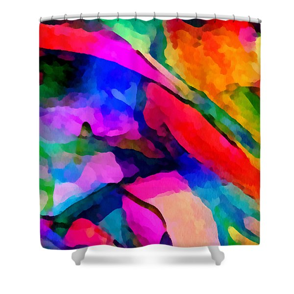 Welcome To My World Triptych Part 1 Shower Curtain