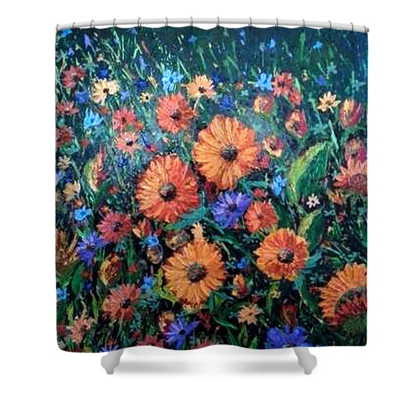 Welcoming The Dawn Shower Curtain