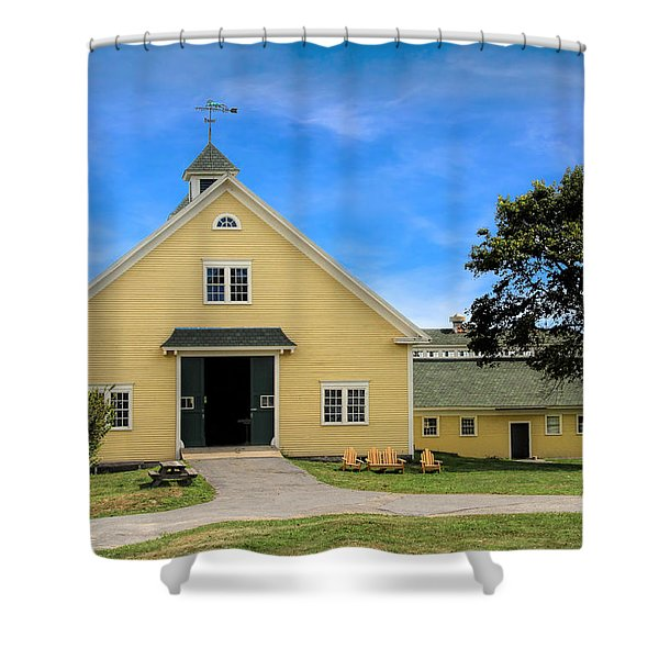 Wells Reserve Barn Shower Curtain
