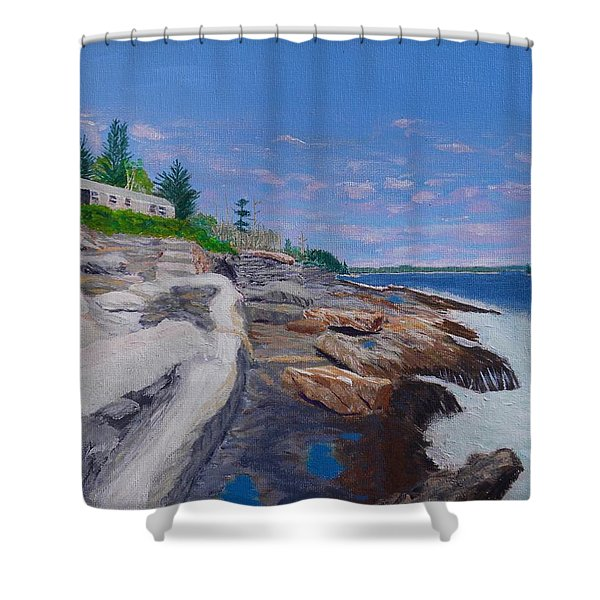Weske Cottage Shower Curtain