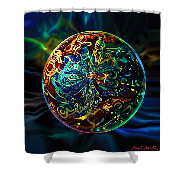 West Of Orleans Shower Curtain
